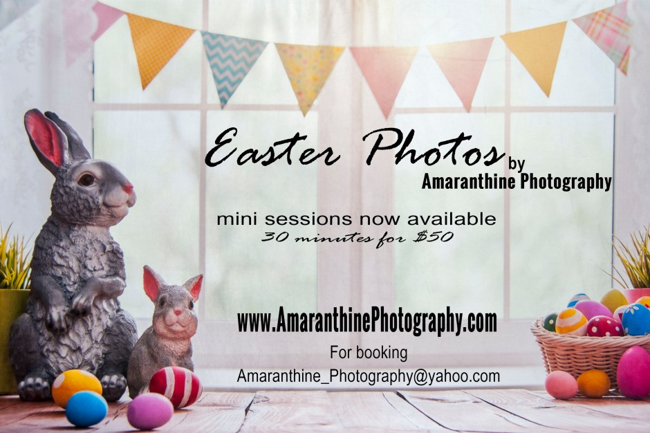 Easter Mini Sessions Ad